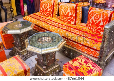 High Quality Arabic Style Furniture To Sit For Tea