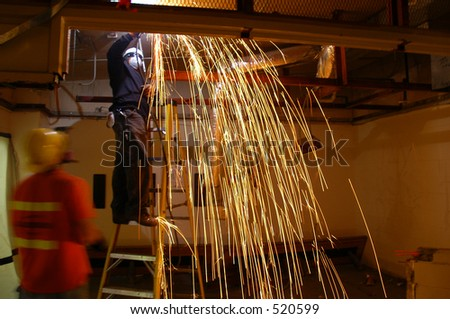 Arc Welding - stock photo