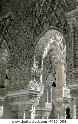 Arch mozarabe - stock photo