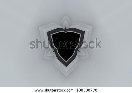 Arch Shield - stock photo