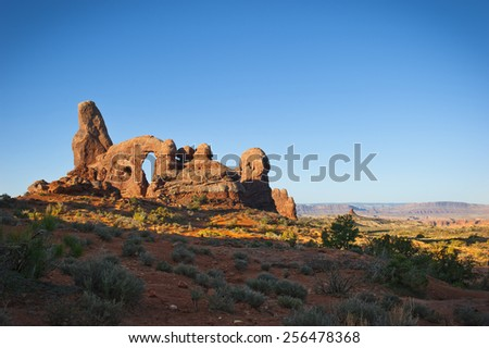 Arches National Park - stock photo