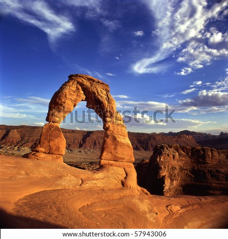 Arches National Park, Utah - stock photo