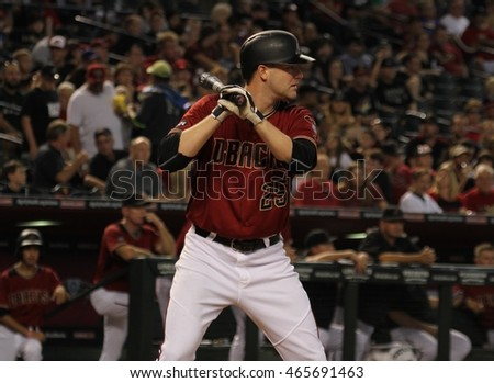 Archie Bradley pitcher for the Arizona Diamondbacks at Chase Field in Phoenix,AZ USA August,7,2016.