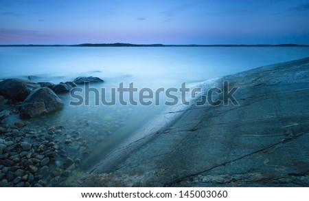 archipelago - stock photo