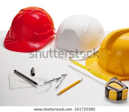 Architect. bridge crossing road junction and civil engineer working table use for urban infra structure and government  development topic and civil engineering ,real estate topic - stock photo