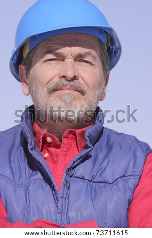 Architect, Builder, Contractor - stock photo