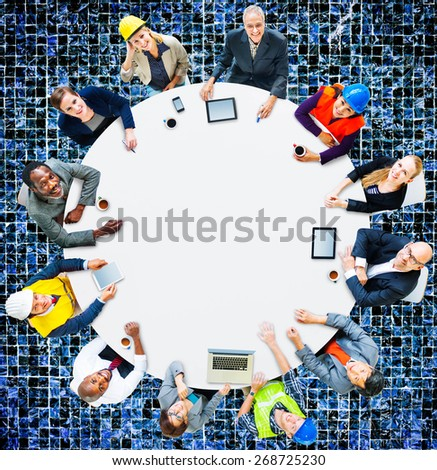 Architect Business Engineering Corporate Team Concept - stock photo