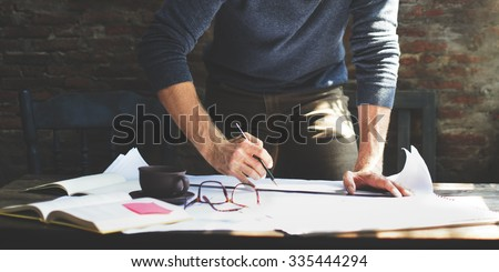 Architect Engineer Design Working Planning Concept