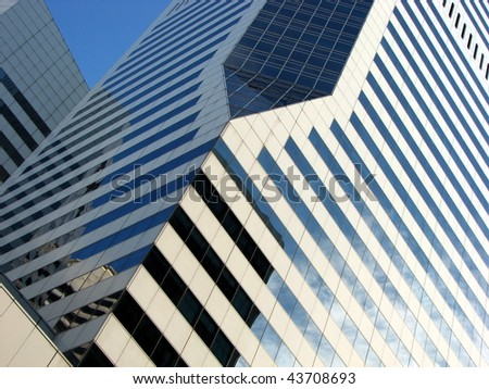 Architectural Abstract 5 - stock photo
