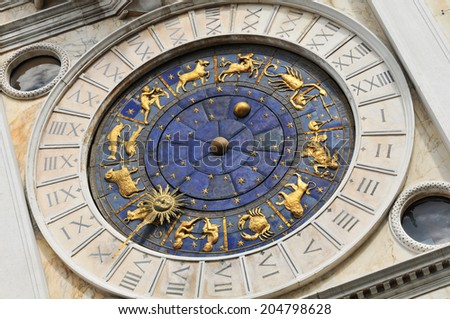 Architectural detail in San Marco Square (Venice, Italy)