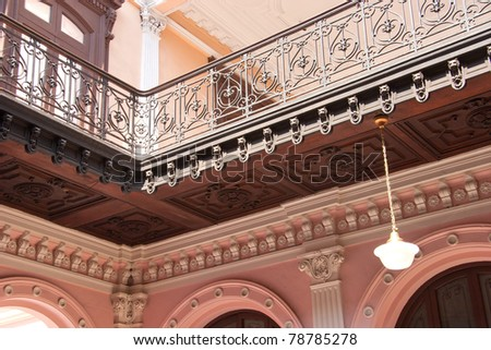 Architectural detayls - stock photo