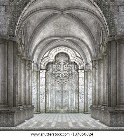 Architectural Fantasy Background