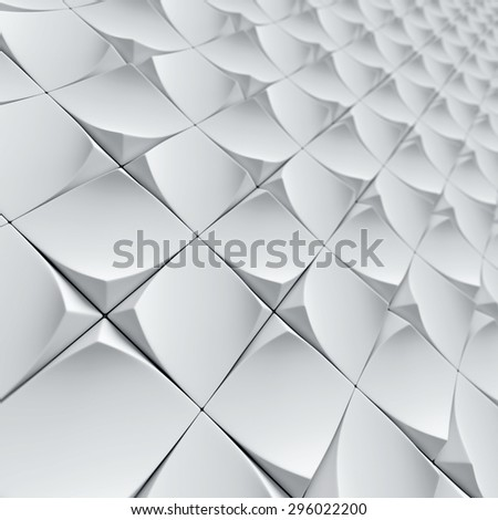 architectural patterns 3d background - stock photo