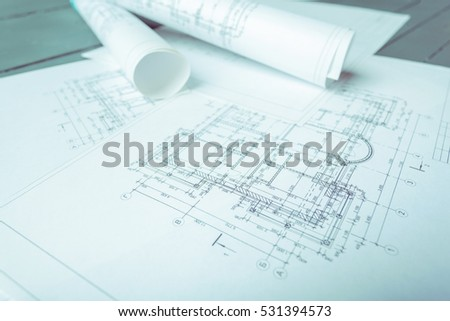 Architectural Plan Stock Images, Royalty-Free Images \u0026 Vectors ... - architectural plans