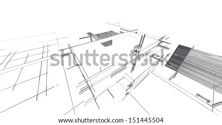 architectural sketch drawings