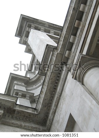 architecture building corner in london - stock photo