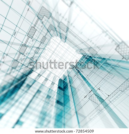 Architecture engineering - stock photo