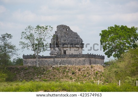 Architecture history travel nature Maya