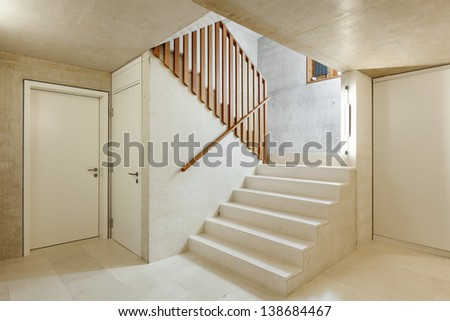 Architecture Modern Design, Interior Home, Staircase
