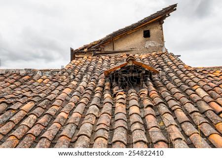 Architecture of Cuenca, Ecuador - stock photo
