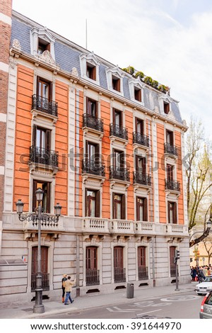 Architecture of Madrid