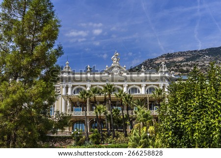 Architecture of Monaco. Principality of Monaco is a sovereign city state, located on the French Riviera in Western Europe.