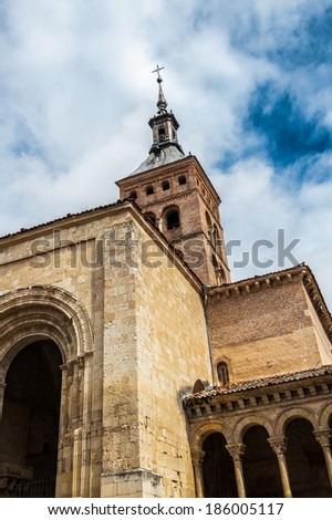 Architecture of Segovia, Spain