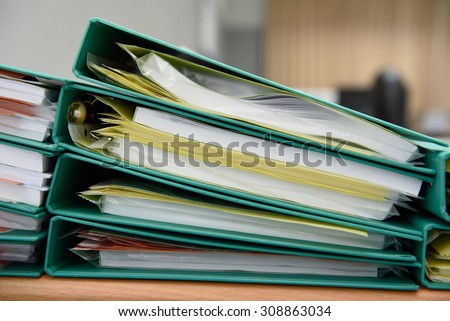 Archive files,For filing and searching for documents.