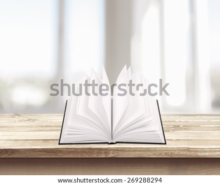 Archive. Open book, isolated on white - stock photo