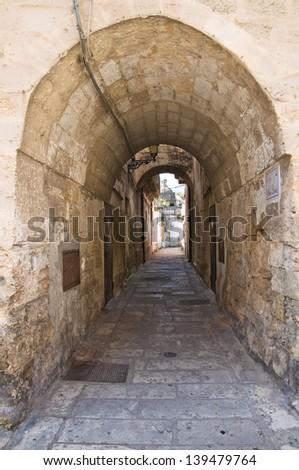 Arco Loreto. Francavilla Fontana. Puglia. Italy. - stock photo