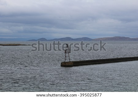 Ardrossan Harbour - Ayrshire - Scotland