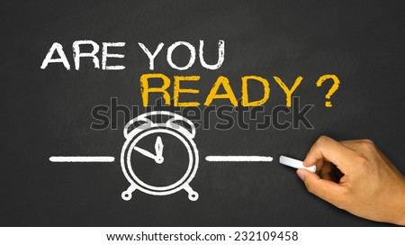 are you ready on blackboard