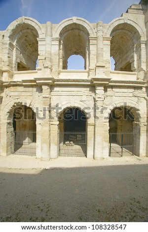 Arena from ancient Roman times, Arles, France