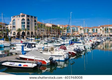 Argeles Sur Mer Stock Images RoyaltyFree Images Vectors - Residence port argeles
