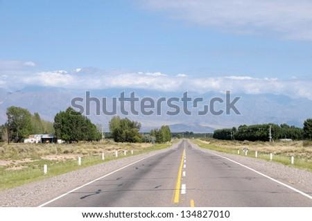 Argentine road - stock photo