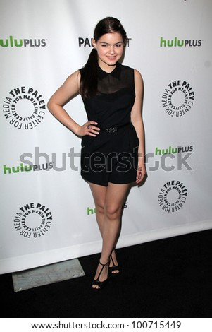 "Ariel Winter at ""Modern Family"" at PaleyFest 2012, Saban Theater, Beverly Hills, CA 03-14-12"