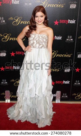 Ariel Winter at the 37th Annual Gracie Awards Gala held at the Beverly Hilton Hotel in Beverly Hills on May 22, 2012.