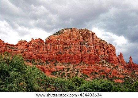 Arizona landscape - stock photo