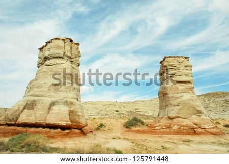 Arizona Rocky Formations, and Landscape in USA