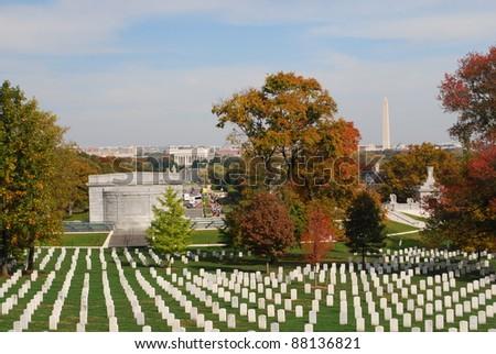 Arlington National Cemetery 6 - stock photo