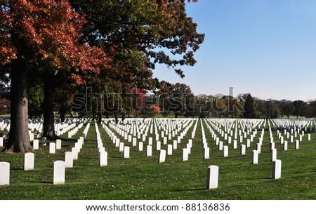 Arlington National Cemetery 4 - stock photo