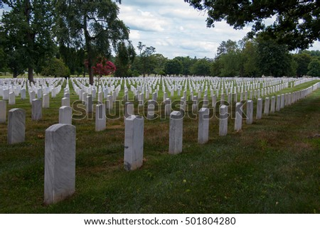 Arlington National Cemetery is a United States military cemetery in Arlington County, Virginia.