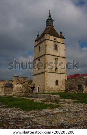 Armenian cathedral ruins in Kamyanets-Podilsky, Ukraine