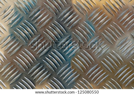 Armored Steel Background with Space for Text - stock photo