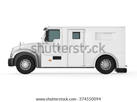 Armored Truck - stock photo