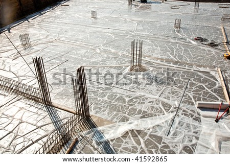 Floor Cleaning Mob Cleanser Foam Stock Photo 270630098