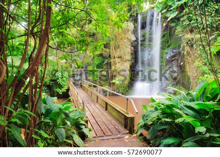 Indoor Waterfall Stock Images, Royalty-Free Images & Vectors ...