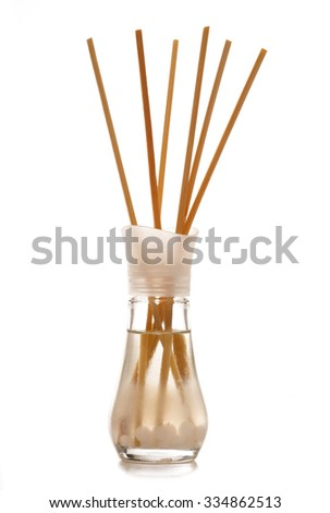Aroma diffuser on white background