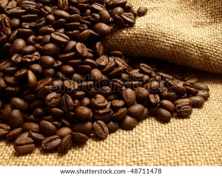 Aroma of fresh coffee