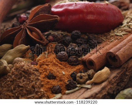 Aroma of spices